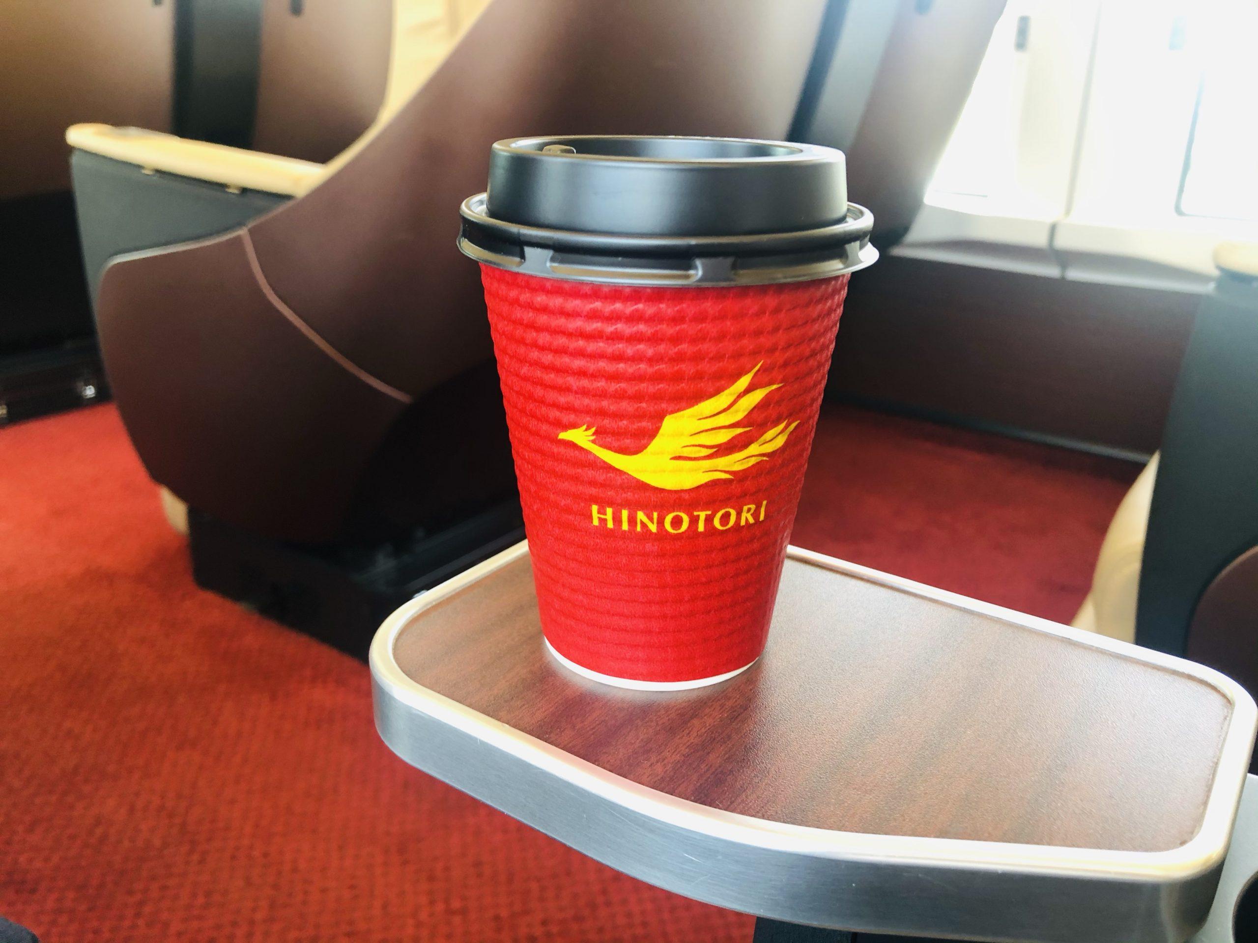 挽きたてのコーヒー200円